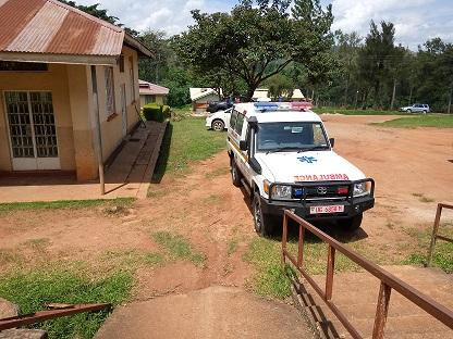 Kibaale District Receives new Ambulance to boost Health Service